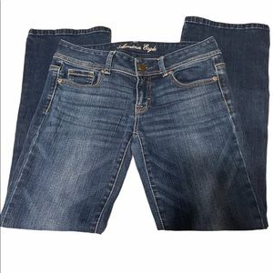 America Eagle Boot Cut Blue Jeans size 4